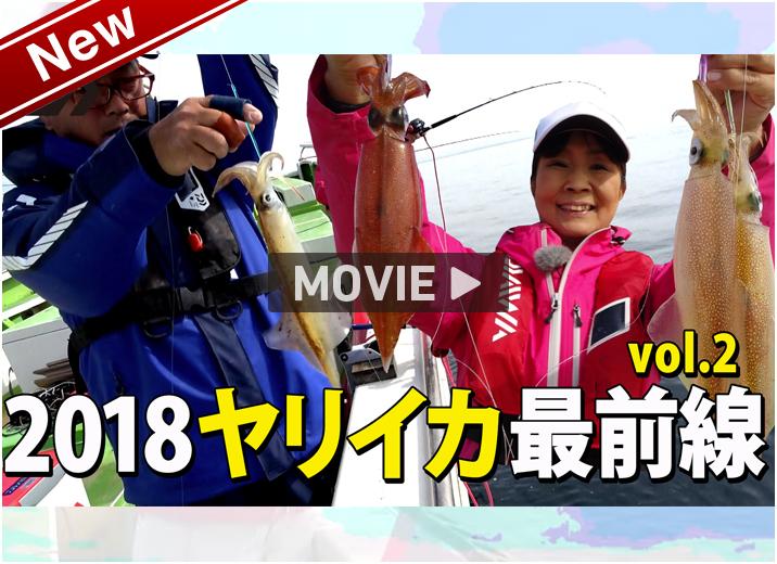 2018年ヤリイカ最前線vol2