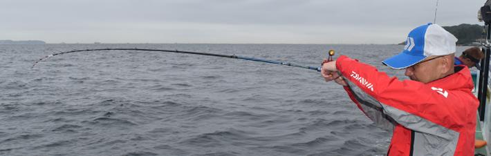 紅牙ロッド&リールで春のテンヤ釣り!!