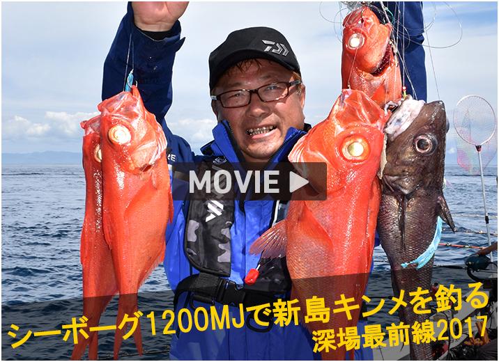シーボーグMJ1200で新島キンメを釣る